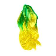 abordables Artículos para Celebración-La Copa Mundial de los aficionados peluca brasileña