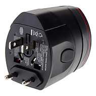 billige -World Travel-vægstik adapter med dual-USB-opladningsport strømforsyning
