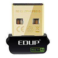 abordables Accesorios de Red-EDUP EP-N8508GS IEEE802.11b/g/n 150Mbps Wireless USB Dongle adaptador de red