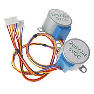 お買い得  Arduino 用アクセサリー-(Arduinoのための)のためのDC 5V 28ybj-48ステッピングモータ((公式(Arduinoのための)ボード/ 2本で動作します)