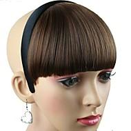 nők szintetikus paróka haj zenekar hőálló szál olcsó cosplay fél haj karika