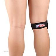 膝用サポーター スポーツサポート 黒フェード