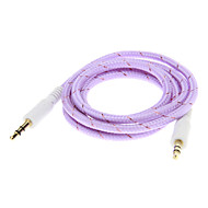 Teje Line Audio Jack Cable de conexión (Purple 1.0m)