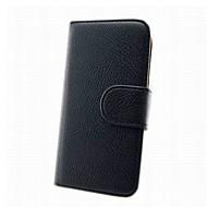 Na Samsung Galaxy Etui Portfel / Etui na karty / Z podpórką / Flip Kılıf Futerał Kılıf Jeden kolor Skóra PU Samsung Win