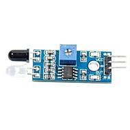 billige Arduino-tilbehør-Smart Bil Infrarød Hindring Unddragelse Sensor Til (For Arduino)