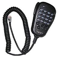 お買い得  -ブラック - FT-7800R / FT-8800R / FT-8900RのためのデジタルボタンとYAESU MH-48A6Jハンドマイク