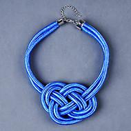 ieftine -Coliere Choker Material Textil Trandafiriu Verde Albastru Coliere Bijuterii Pentru Petrecere Zilnic Casual