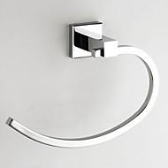 お買い得  浴室用小物-タオルバー コンテンポラリー 真鍮 1枚 - ホテルバス 壁式