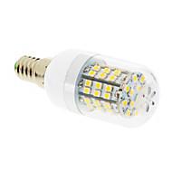 お買い得  LED スポットライト-550-680 lm E14 LEDコーン型電球 T 60 LEDの SMD 2835 温白色 AC 220-240V