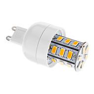 3W G9 LED Corn Lights T 24 leds SMD 5730 Dimmable Warm White 250-300lm 2700-3500K AC 220-240V