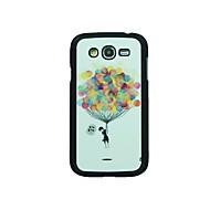 olcso Galaxy J tokok-Mert Samsung Galaxy tok Minta Case Hátlap Case Léggömb PC Samsung Grand