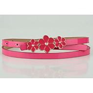 abordables Cinturones-Mujer Piel Cinturón Slim - Bonito