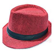 moda ropa de caballero británico sombrero fedora de la mujer