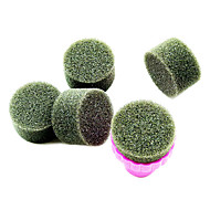 1PCS Manicure Sponge Nail Art Stamper Gereedschappen met 5PCS Spons Spijker voor Gradient Color Nail Art