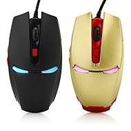 preiswerte Mäuse-Mit Kabel Gaming Mouse DPI Adjustable Hinterleuchtet 2400