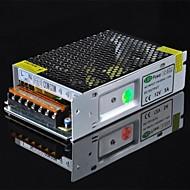 60w 12v 5a controlador / interruptor de fuente de alimentación para luz de tira led - plata