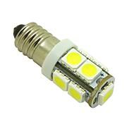 Недорогие Внешние огни для авто-2pcs E10 Автомобиль Лампы 1W SMD 5050 100lm Светодиодная лампа Внутреннее освещение For Универсальный