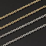 abordables U7-Mujer Moda Collares de cadena Chapado en Plata Chapado en Oro Collares de cadena , Boda Fiesta Diario Casual