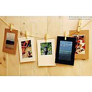"""3 """"x 3"""" einfachen Stil Handwerk Papier hängen Bilderrahmen, 10er-Set"""