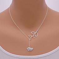 Недорогие $0.99 Модное ювелирное украшение-Жен. Ожерелья с подвесками - Птица, Животный принт Мода Серебряный Ожерелье Назначение Для вечеринок, Повседневные