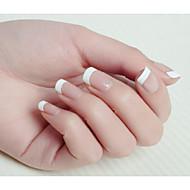 cheap Nail Art-10x50PCS Mixs Size White Smile Nail Art French Tips