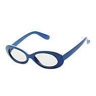 엠&RealD의 영화와 3D TV (파란색)에 대한 편광 패턴 리타 더 chledren의 3D 안경을 K