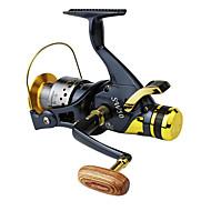 お買い得  釣り用アクセサリー-リール スピニングリール 5.2:1 ギア比+10 ボールベアリング 手の向き 交換可能 左利きの 右利きの 海釣り ベイトキャスティング スピニング 川釣り