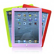 cheap -Case For iPad Mini 3/2/1 Shockproof Back Cover Solid Color Silicone for iPad Mini 3/2/1