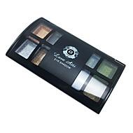 8 farver Øjenskygger / Pudder Øjne Naturlig Daglig makeup / Rygende makeup Makeup Kosmetiske