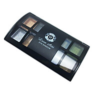 8 cores Sombra para Olhos / Pós Olhos Natural Maquiagem para o Dia A Dia / Maquiagem Esfumada Maquiagem Cosmético