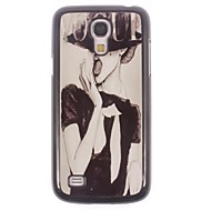 For Samsung Galaxy Case Pattern Case Back Cover Case Sexy Lady PC Samsung S4 Mini