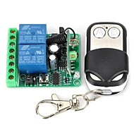 12V 2-Channel Wireless Remote Control Relay Module with  Remote Controller (DC28V - AC250V)