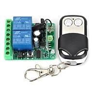 abordables Partes DIY-Módulo de relé de control remoto 12V 2-Channel Wireless con mando a distancia (DC28V - AC250V)