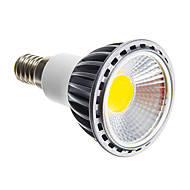 6W E14 E26/E27 LED Spotlight leds COB Dimmable Warm White Cold White 250-300lm 3000K AC 220-240V