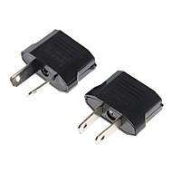 nos Socket al au enchufe de CA adaptador de corriente + socket au nos conecte el enchufe adaptador de alimentación de CA (2 piezas)