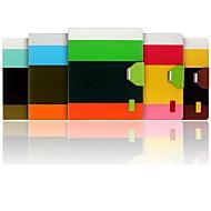 Hülle Für Apple Kreditkartenfächer / mit Halterung Ganzkörper-Gehäuse Linien / Wellen PU-Leder für iPad 4/3/2