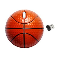 Novelty Basketball Shape 2.4G Wireless Optical Mouse for Laptop Desktop 1200DPI