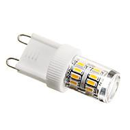 お買い得  LED コーン型電球-2 W 180-200 lm G9 LEDコーン型電球 T 27 LEDビーズ SMD 3014 装飾用 温白色 220-240 V / #