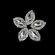 10pcs κράμα μαρκησία κρύσταλλο με σειρά στρας για τις άκρες των δακτύλων αξεσουάρ νυχιών τέχνη διακόσμησης