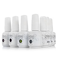 abordables -Gel UV para esmalte de uñas 15 ml 1 pcs Gel de color UV Empapa de Larga Duración Gel de color UV