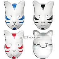 voordelige Cosplay & Kostuums-Masker geinspireerd door Naruto Cosplay Anime Cosplay Accessoires Masker Zwart / Rood / Blauw PVC Mannelijk / Vrouwelijk
