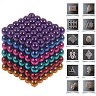 cheap Toy & Game-216 pcs 5mm Magnet Toy Magnetic Balls Building Blocks Super Strong Rare-Earth Magnets Neodymium Magnet Stress and Anxiety Relief Office Desk Toys DIY Adults' / Children's Boys' Girls' Toy Gift