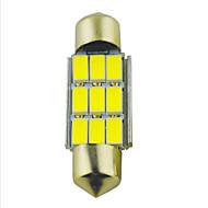 Недорогие Сигнальные огни для авто-SO.K 2pcs 36mm Лампы 2W SMD 5630 9 Лампа поворотного сигнала For Универсальный