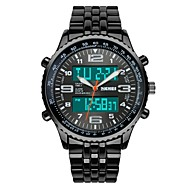SKMEI Heren Militair horloge Modieus horloge Polshorloge Digitaal horloge Kwarts Digitaal Japanse quartz LCD Kalender Chronograaf