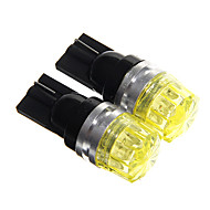 T10 Yellow 1.5W COB Instrument Light Door lamp