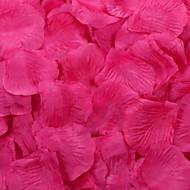 billige -roseblader bord dekorasjon (assortert farge) (sett av 100 kronblader)