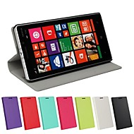 Ultrathin Solid Color Pattern PU Leather Full Body Case for Nokia Lumia 930  (Assorted Colors)