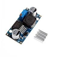abordables Accesorios para Arduino-LM2596 - adj dc-dc módulo de despresurización tensión reducción de bajada ajustable con disipador de calor de aluminio