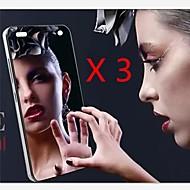 Недорогие Чехлы и кейсы для Galaxy S-Защитная плёнка для экрана Samsung Galaxy для S4 Mini PET Защитная пленка для экрана Зеркальная поверхность