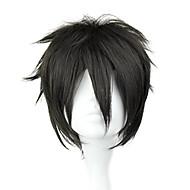 Cosplay Parykker Sword Art Online Kirito Sort Kort / Ret Anime Cosplay Parykker 32 CM Varmeresistent Fiber Mand